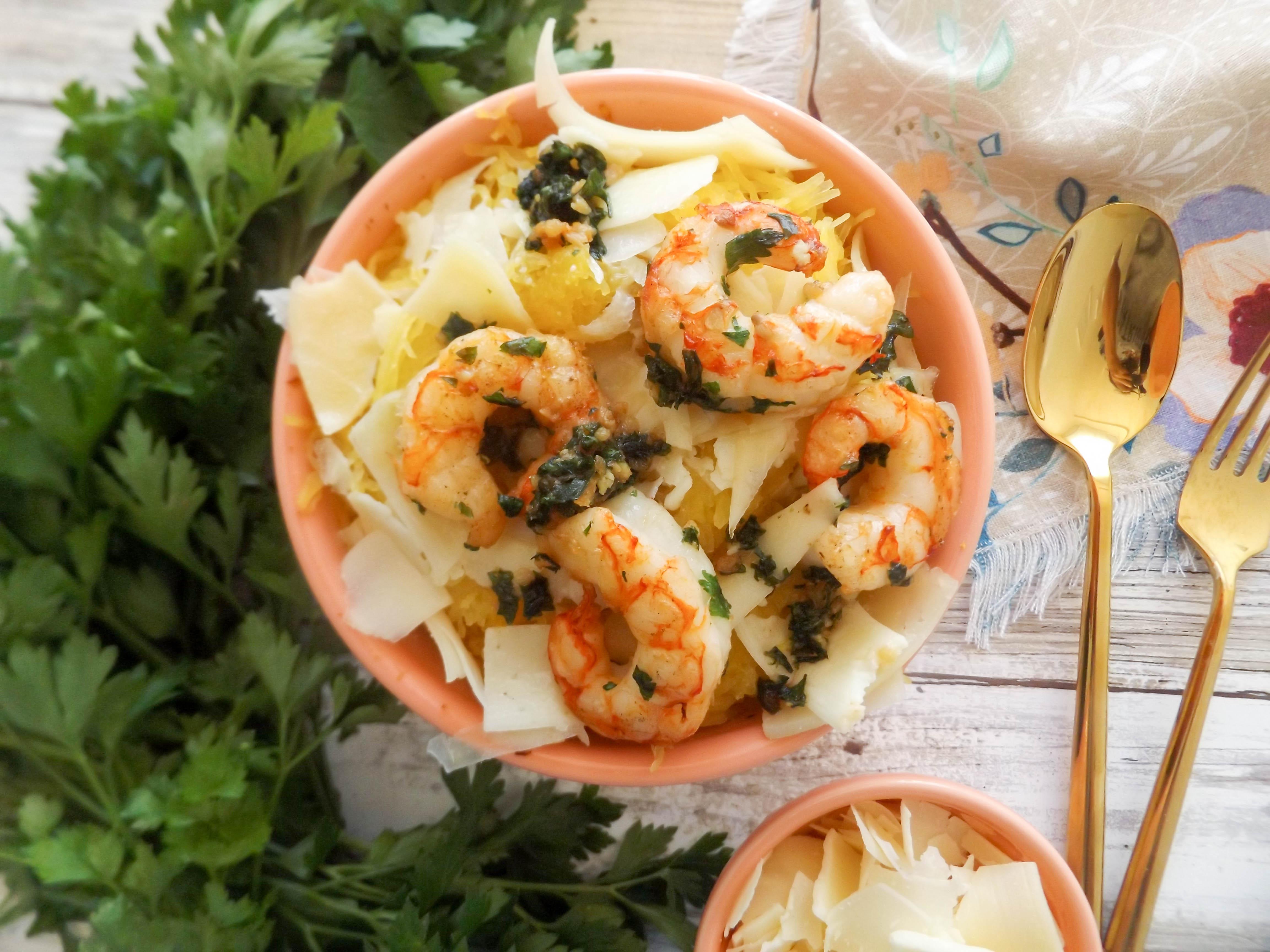 Spaghetti squash shrimp scampi figs flour How long will spaghetti last in the refrigerator